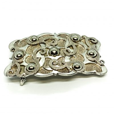 Swirls and Spheres Belt Buckle