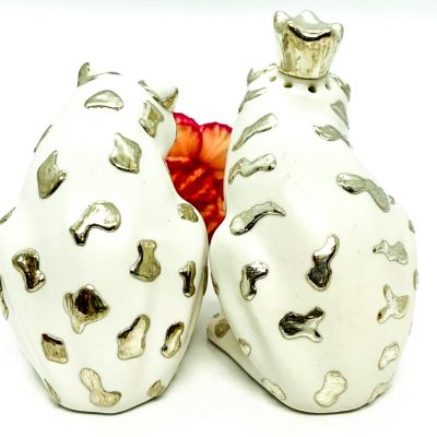 Frog with Crowns Salt/Pepper Set