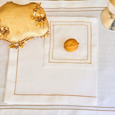 Double Hemstitch Dinner Napkin
