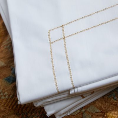 Double Hemstitch Sheet Set