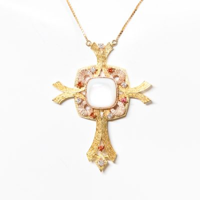Gold Alma Cross