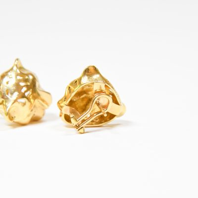Gold Jaguar Earring