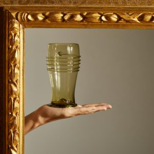 Historical Green Water Glass