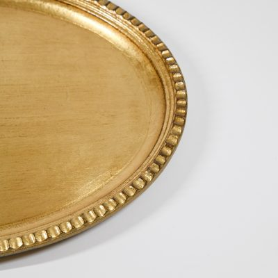 Variation #35851 of Florentine Oval Tray