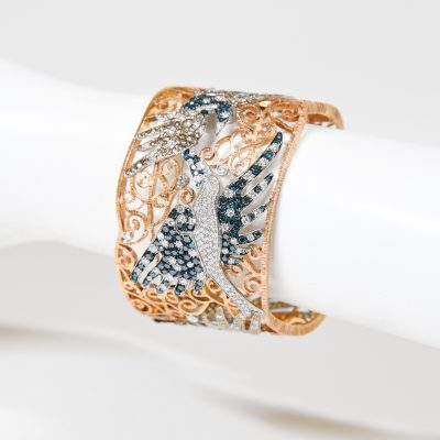 One of a Kind – Rose Gold Cuff