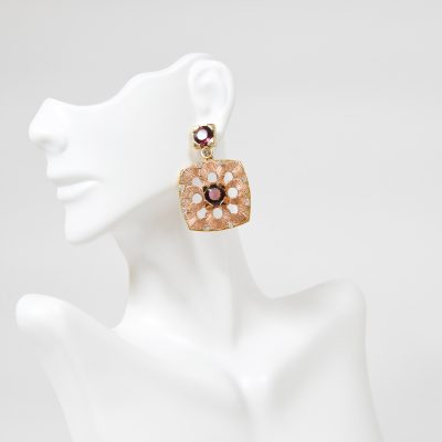 Rose Gold Alma Earring