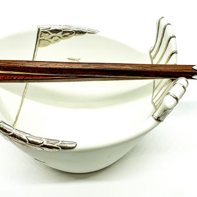 Vintage Fish Rice Bowl