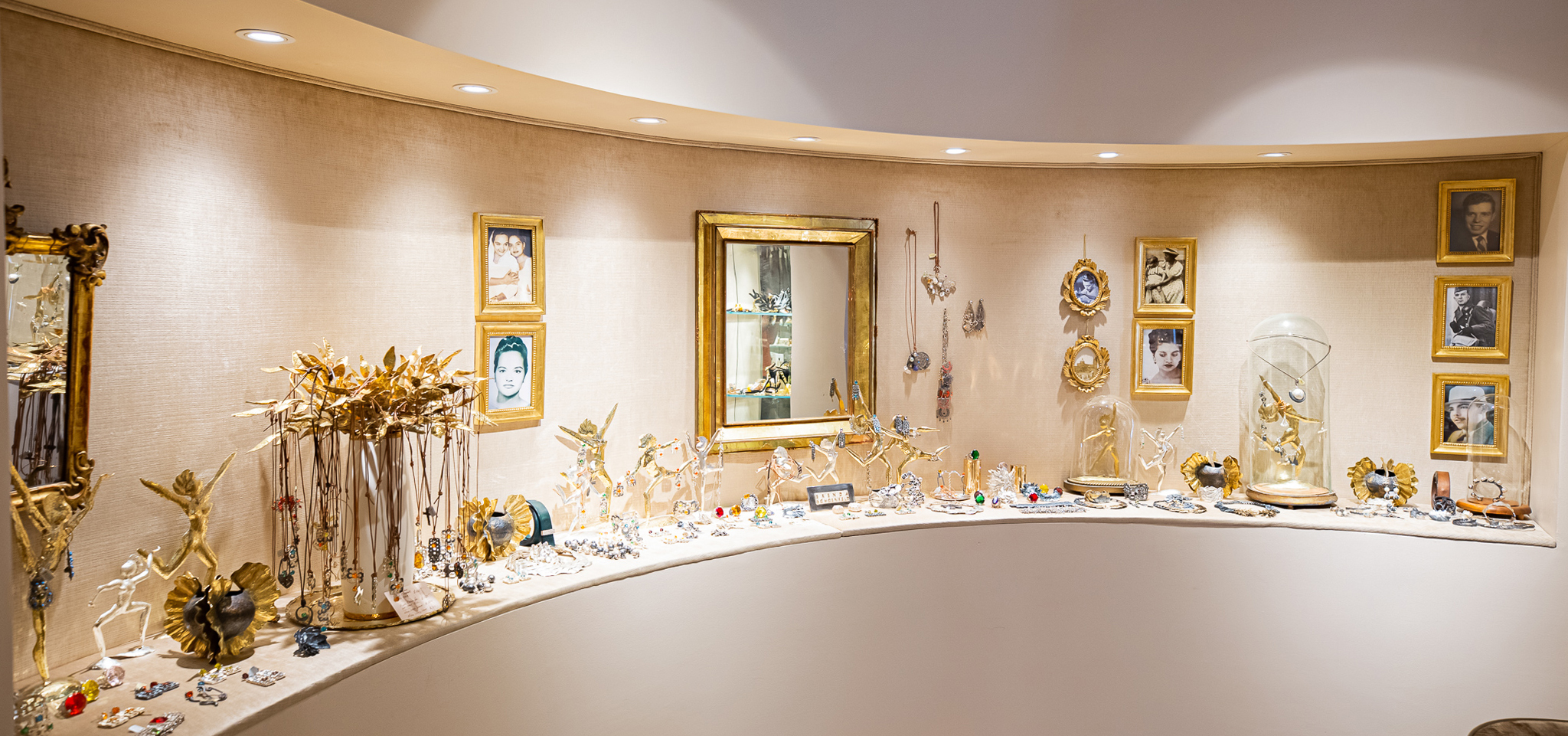 Brenda Schoenfeld NOW Store in Dallas, TX on Oak Lawn Ave - View of Jewelry Area