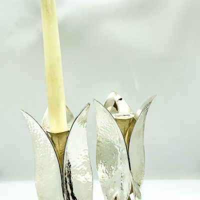 Three Leaf Candle Holder