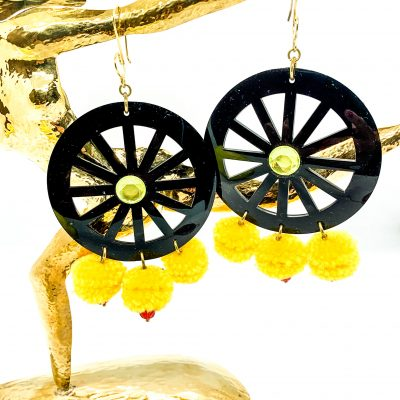 Large Sicilian Earrings