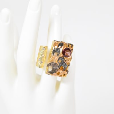 18K Gold Alma Ring