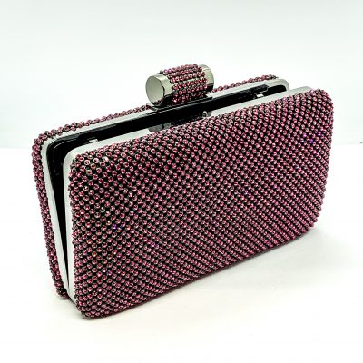 Evening Bag Mesh Rhinestone
