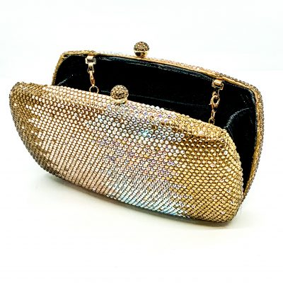 Evening Bag with Rhinestones