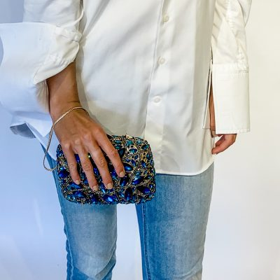 Evening Bag with Large Gemstones