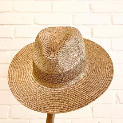 Gold Panama Hat