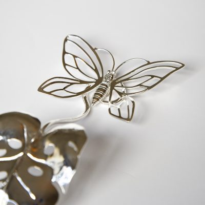 Butterfly and Leaf Spoon Rest