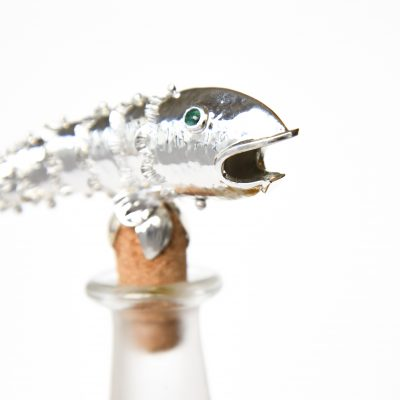 Large Fish Bottle Stopper